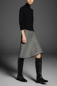 FANTASY CHECKED SKIRT, You can collect images you discovered organize them, add your own ideas to your collections and share with other people. Fashion Mode, Work Fashion, Fashion Outfits, Womens Fashion, Fashion Trends, Looks Chic, Looks Style, Style Me, Fall Outfits
