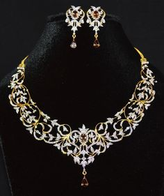 Buy Certified Natural VS G Diamond Color Change Garnet Solid Gold Necklace Earrings Set at the best price. Also, find the perfect piece of jewelry for your loved one. Diamond Necklace Set, Gold Diamond Earrings, Diamond Pendant, Diamond Jewelry, Pendant Necklace, Garnet Necklace, Gold Jewelry, Diamond Mangalsutra, Choker Necklaces