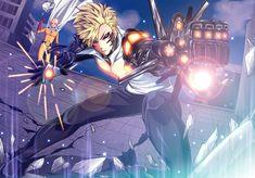 Anime One-Punch Man Saitama Genos