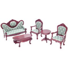 5-Pc. 18th Century Parlor Set (living room - option 2)