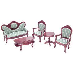 5-Pc. 18th Century Parlor Set (living room - option 2)