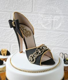 Shoe Cake by The Clever Little Cupcake Company