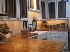 Decorating With Shiplap: Ideas From HGTVu0027s Fixer Upper. Wood Kitchen  CountertopsButcher ...