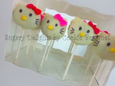 Hello Kitty - Cake Pops