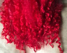 Your place to buy and sell all things handmade Ruby Slippers, Doll Hair, Red S, Locks, Weaving, Wool, Etsy, Door Latches, Loom Weaving