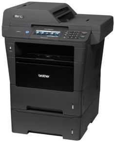 Print and copy at up to Automatic duplex print/copy/scan/fax Color Touchscreen display with Web Connect Brother Wireless Monochrome Printer with Scanner, Copier and Fax