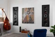 La haute fidélité encastrée dans les murs, c'est possible ! Phantom, Dali, Foyer, Audio, Electronics, Music System, Walls, Foyers, Consumer Electronics