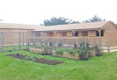 Stable Blocks - L Shape Stable Block and Large Barn - Equestrian buildings - Horse Stables