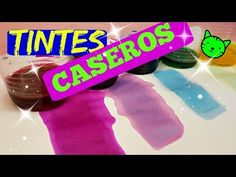 5 maneras de hacer tintes caseros que ni imaginabas - HOW TO MAKE HOMEMA... How To Make Homemade, Decoupage, Diy Painting, Clay, Diy Crafts, Cleaning, Bottles, Build Your Own, Home Colors
