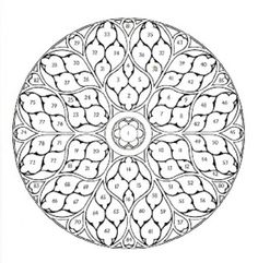 Intricate Coloring Pages | Compass Rose Coloring Pages 600x613px
