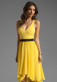 805ce060e0 Black Halo Francis Dress in Sunflower - Lyst Formal Cocktail Dress