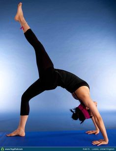 "Yoga Poses Around the World:  ""Full Wheel Variation"""