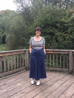Megan Neilsen Flint Pants in linen #sewing