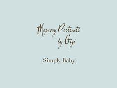 www.memoryportraitsbygigi.com