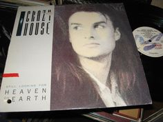 Crazy House - Still Looking For Heaven On Earth CANADA 1987 LP Vinyl Innersleeve