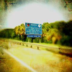 Nous venons tout juste de passer la Georgie et nous sommes maintenant à la porte de la Floride, là où va réellement commencer notre Road Trip...
