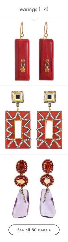 """earings (14)"" by geniusmermaid on Polyvore featuring jewelry, earrings, accessories, chanel, orecchini, chanel jewelry, lucite jewelry, vintage jewelry, pearl jewellery and garnet earrings"