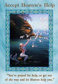Oracle Card Accept Heaven's Help | Doreen Virtue - Official Angel Therapy Website
