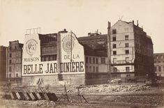 Anonyme - Magasins de la Belle Jardinière, île de la Cité. Paris IVe. Circa 1867.