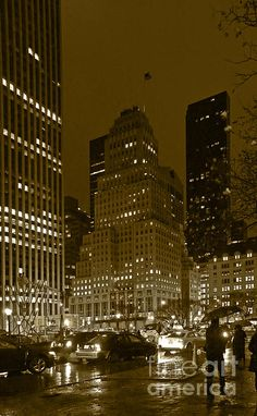 Lights Of 5th Ave.  By Elena Perelman