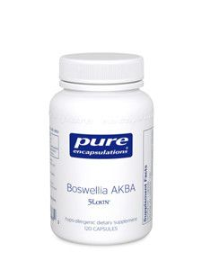 Pure Encapsulations- Boswellia AKBA 120 caps
