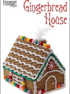 Gourmet Crochet Gingerbread House Pattern