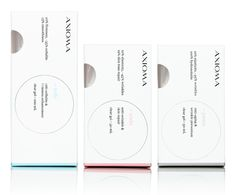 Packaging with die cut window for high quality and active skincare brand Axioma designed by Anagrama.