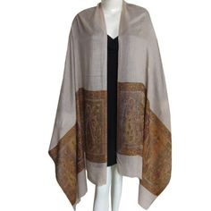 Gold Cashmere Pashmina Scarf Handcrafted in India 80 x 28 inches ShalinIndia, http://www.amazon.com/dp/B004DTVQGQ/ref=cm_sw_r_pi_dp_yHKGqb025W04G