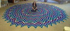 Irish crochet &: RUG .... КОВЕР