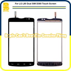 10pcs Replacement Parts High Quality 5 inch New Mobile Phone Touch Screen Glass Digitizer Panel Sensor For LG L80 Dual Sim D380 #Affiliate