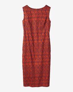 BUKHARA STRIPE COLUMN DRESS by TOAST