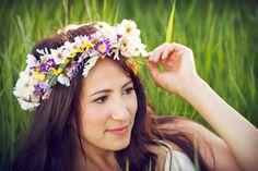 The Irvine Home: Best Friend Birthday Photoshoot  Photography | Flower Crown