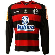Camisa Olympikus Flamengo I 2010 M/L c/n. R$99.90