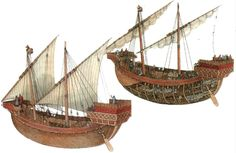 Round Ship (Ship Type)   Medieval ship type popular in the eleventh through the thirteenth centuries and the Christian Crusaders' tra...