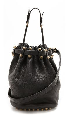 put it on my bday list. // alexander wang bucket bag