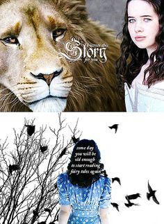 Susan didnt believe in Narnia after she grew up...she forgot all the adventure and life she lived there, Susan is the only Pevensie who never went back to Narnia