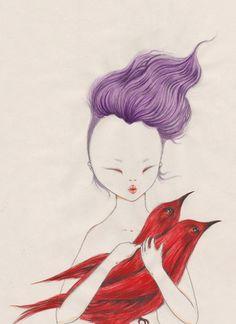 Illustrations de Violeta Hermandez