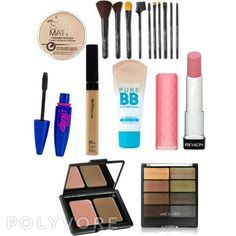 I created this makeup starter kit for teens. Perfect for beginners,  all affordable drugstore makeup!