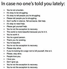 Someone loves you. Stay alive. Get help. You are worth it.