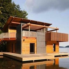 11 Floating Homes That Really Deliver On Best Water Views