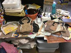 Sage, Workshop, Dolls, Baby Dolls, Atelier, Salvia, Work Shop Garage, Puppet, Doll