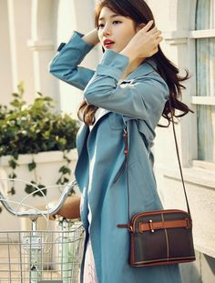 Suzy for Beanpole Accessory 2017 SS Collection Korean Fashion, New Fashion, Fashion Outfits, Fashion 2016, Korean Actresses, Korean Actors, Korean Girl, Asian Girl, Miss A Suzy