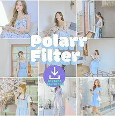 Blue Filter, Color Filter, Filters For Pictures, Free Photo Filters, Aesthetic Filter, Photography Filters, Editing Apps, Lightroom Tutorial, Mobile Photos