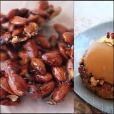 Pralines - caramelised almonds for a sweet snack or cake decoration at lili's cakes #pralines #almonds #recipe