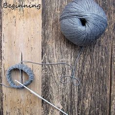 життя_схоже_на_плетиво life_life_knitting crocheting hook beginning gray handmade handicraft handmood ukraine wood wool гачок гачком yarn україна ilovecrochet