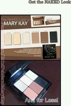 Urban Decay Naked Basic palette vs Mary Kay eye shadows .