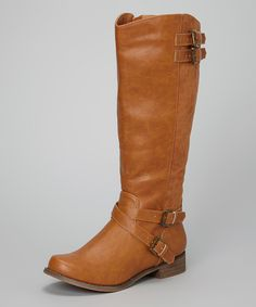 Look at this #zulilyfind! Camel Lambert Boot by I Heart Footwear #zulilyfinds