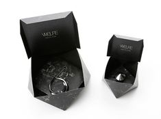 Necklace packaging by Weife. unique folds create a classy yet simple box - Necklace packaging by Weife. unique folds create a classy yet simple box - Necklace Packaging, Jewelry Packaging, Crismas Tree, Beauty Packaging, Packaging Ideas, Packing Jewelry, Brighton Jewelry, Necklace Box, Packaging Design Inspiration