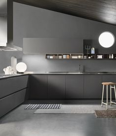 ONE by Ernestomeda #kitchen #grey @ernestomeda