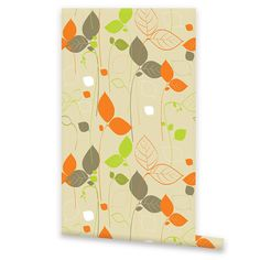 Self Adhesive Floral WALLPAPER Removable Vinyl by EasyWallPaper